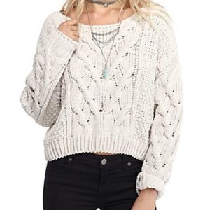 Free People Stick and Stones oversized sweater